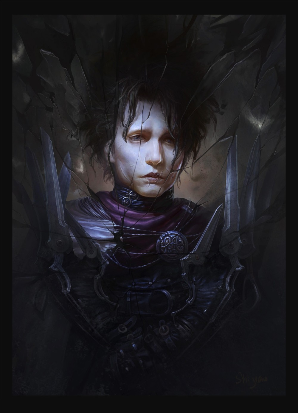 illustration-sadness-Edward-Scissorhands-darkness-screenshot-fictional-character-10054-wallhere.com